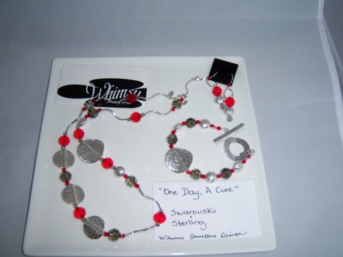 MS  Necklace,Earrings and Bracelet Set